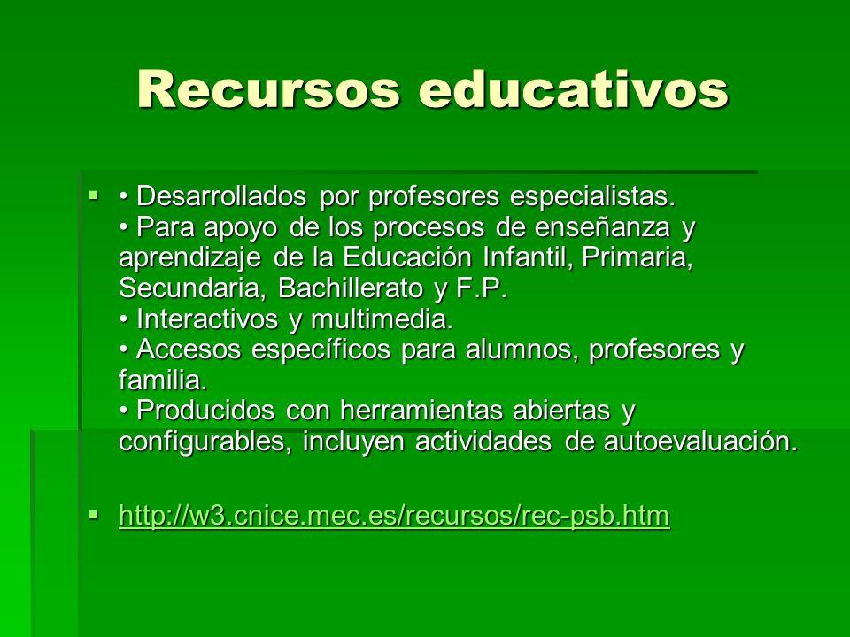 ¿Qué ofrece la web del CNICE? Vehículo de información y comunicación, para la comunidad educativa Servicios y contenidos para profesorado, alumnado y