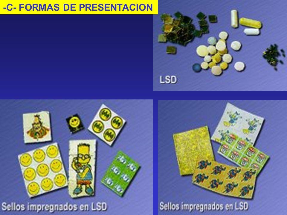-C- FORMAS DE PRESENTACION