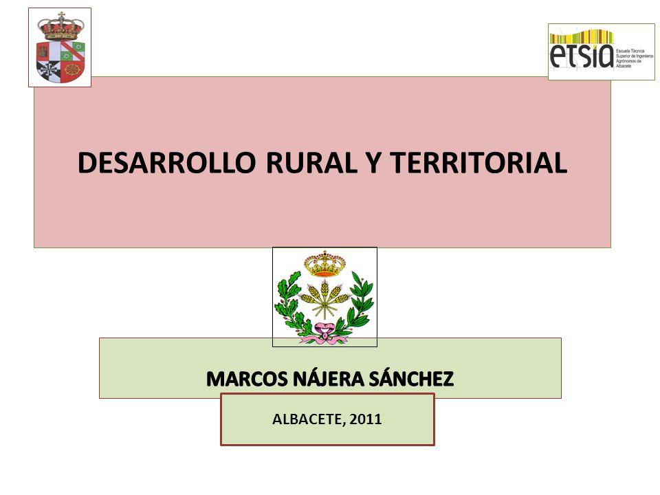 DESARROLLO RURAL Y TERRITORIAL ALBACETE, 2011