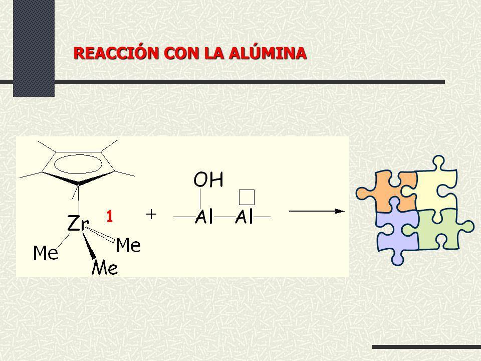 1 REACCIÓN CON LA ALÚMINA