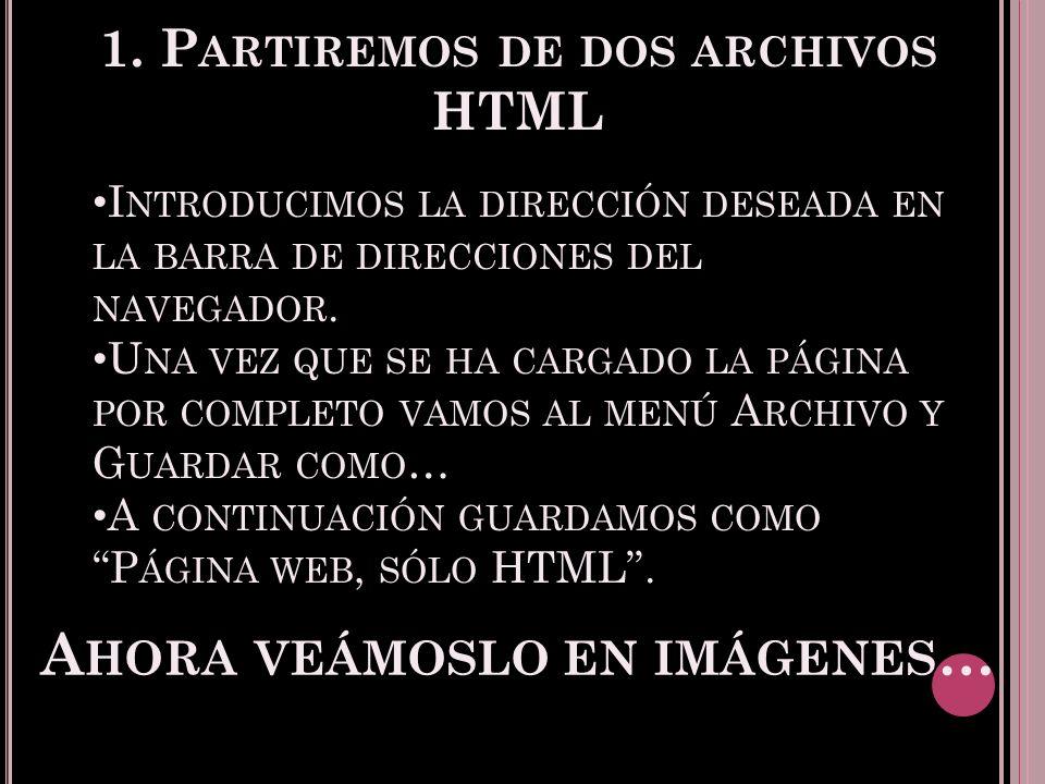 5.E XPORTAR PAR ( ES ) DE ARCHIVOS V AMOS AL MENÚ A RCHIVO, EXPORTAR PAR ( ES ) DE ARCHIVOS.
