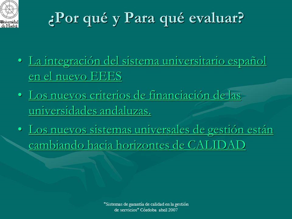 Sistemas de garantía de calidad en la gestión de servicios Córdoba abril 2007 Calidad según Garvin (1988) y Reeves y Bednar (1994) 1.