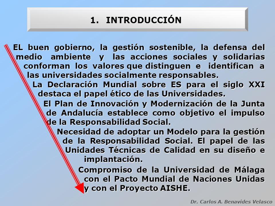 2.LA RESPONSABILIDAD SOCIAL Dr.Carlos A. Benavides Velasco ¿QUÉ ES LA RESPONSABILIDAD SOCIAL.