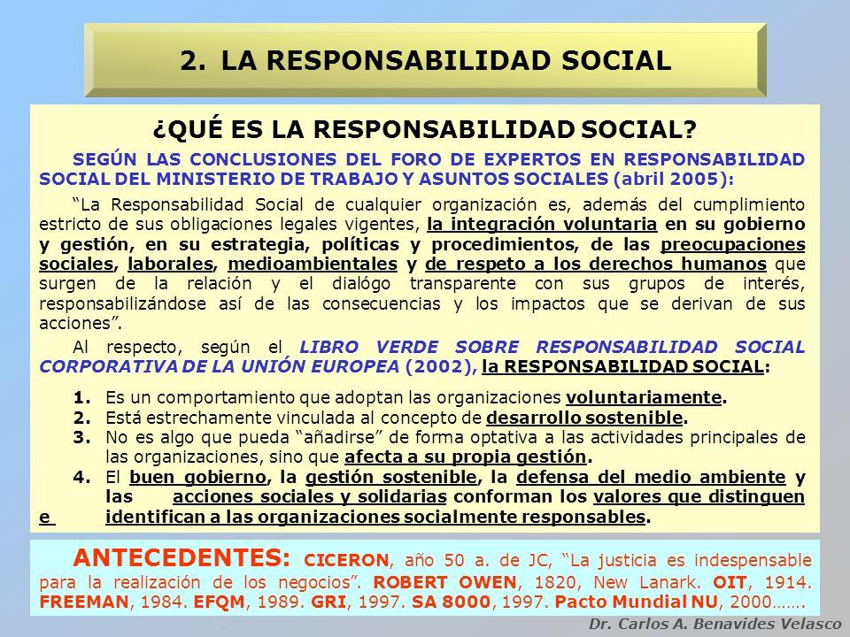 ¿POR QUÉ LA RESPONSABILIDAD SOCIAL EN LA UNIVERSIDAD.