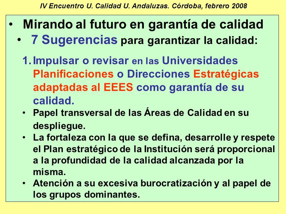 Manuel Barbancho Medina16 IV Encuentro U. Calidad U.