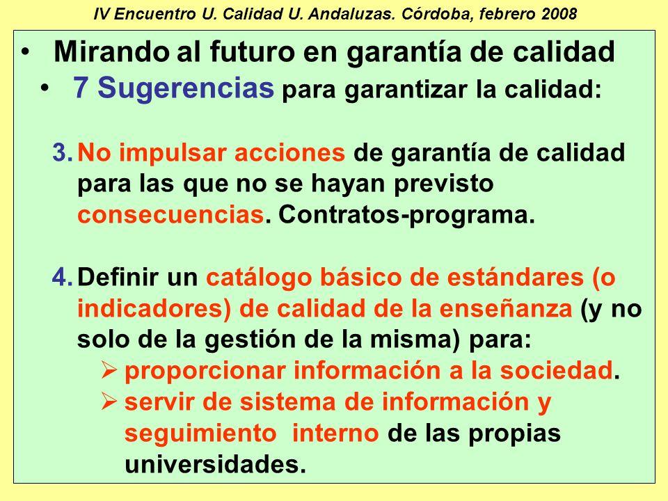 Manuel Barbancho Medina27 IV Encuentro U. Calidad U.