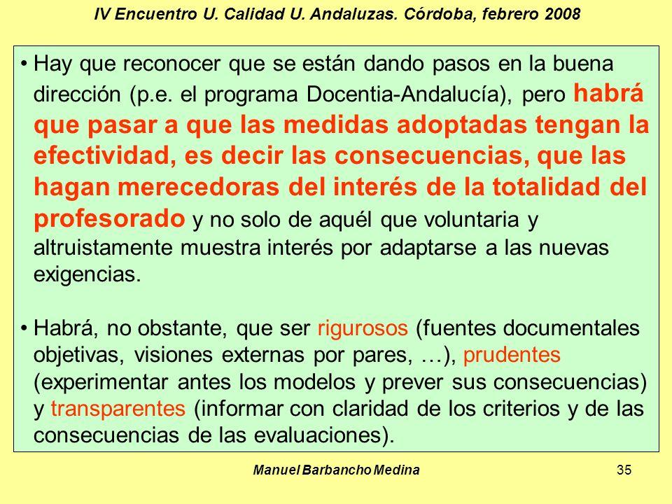 Manuel Barbancho Medina35 IV Encuentro U. Calidad U.