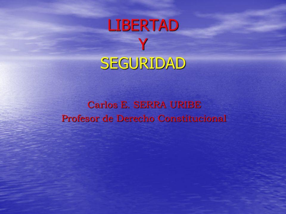 PROCEDIMIENTO DE HABEAS CORPUS PROCEDIMIENTO DE HABEAS CORPUS La garantía específica de la libertad que dispone el apartado 4 del art.