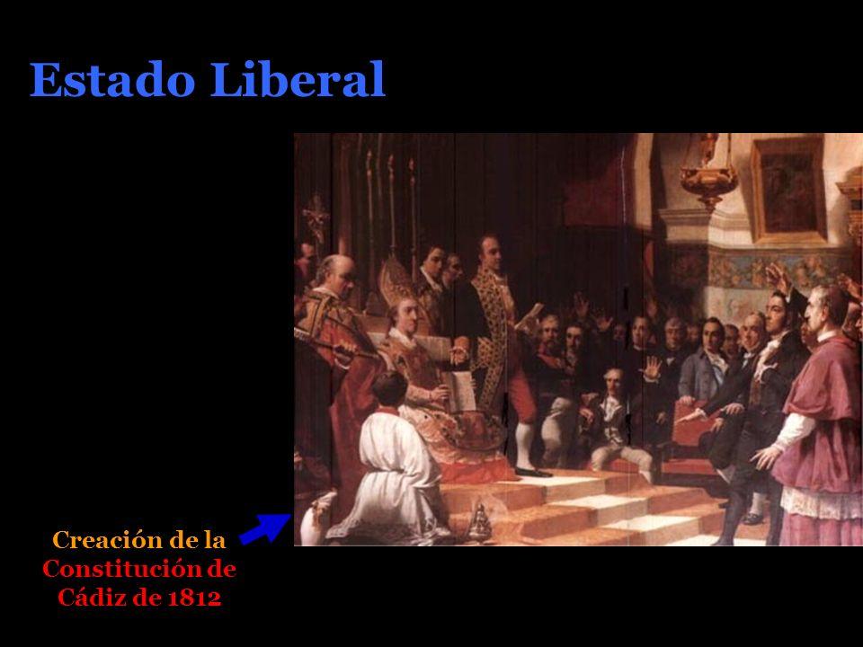Estado Liberal Creación de la Constitución de Cádiz de 1812