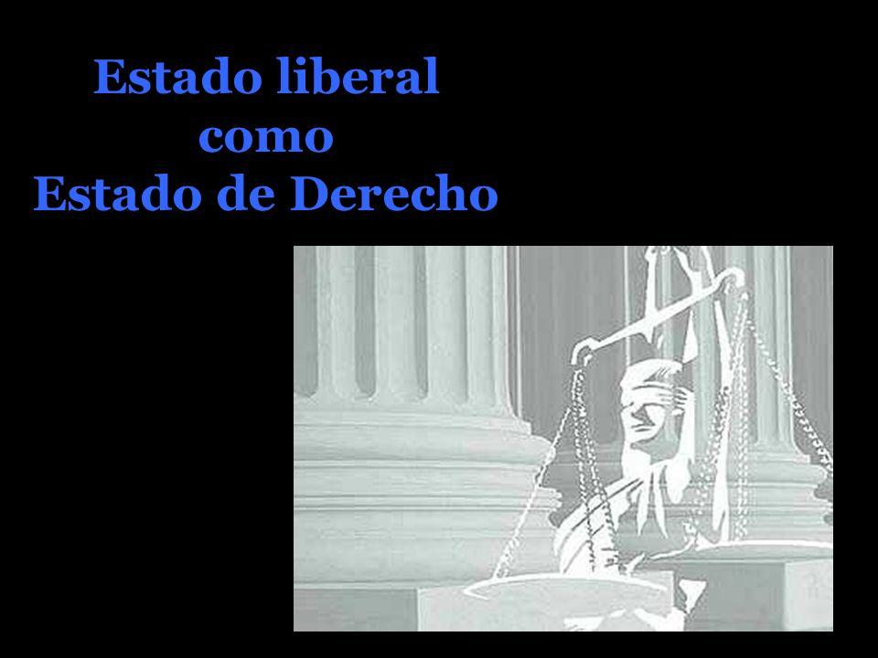 Estado liberal como Estado de Derecho