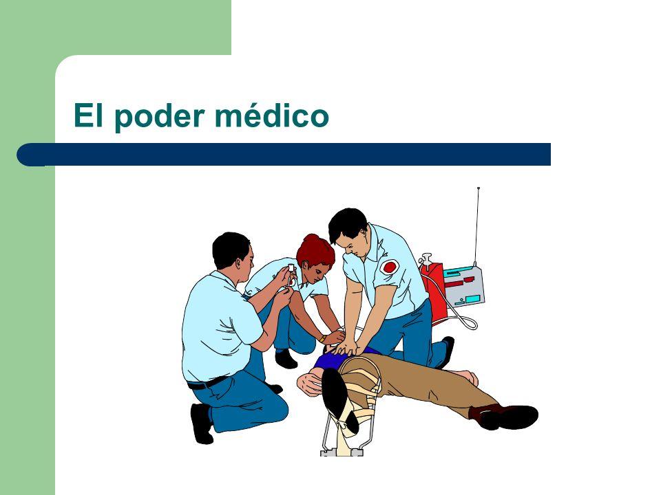 El poder médico