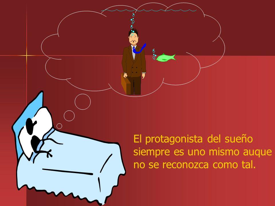El protagonista del sueño siempre es uno mismo auque no se reconozca como tal.