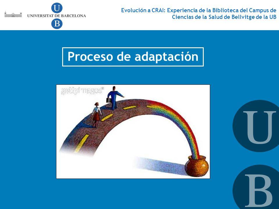 Proceso de adaptación
