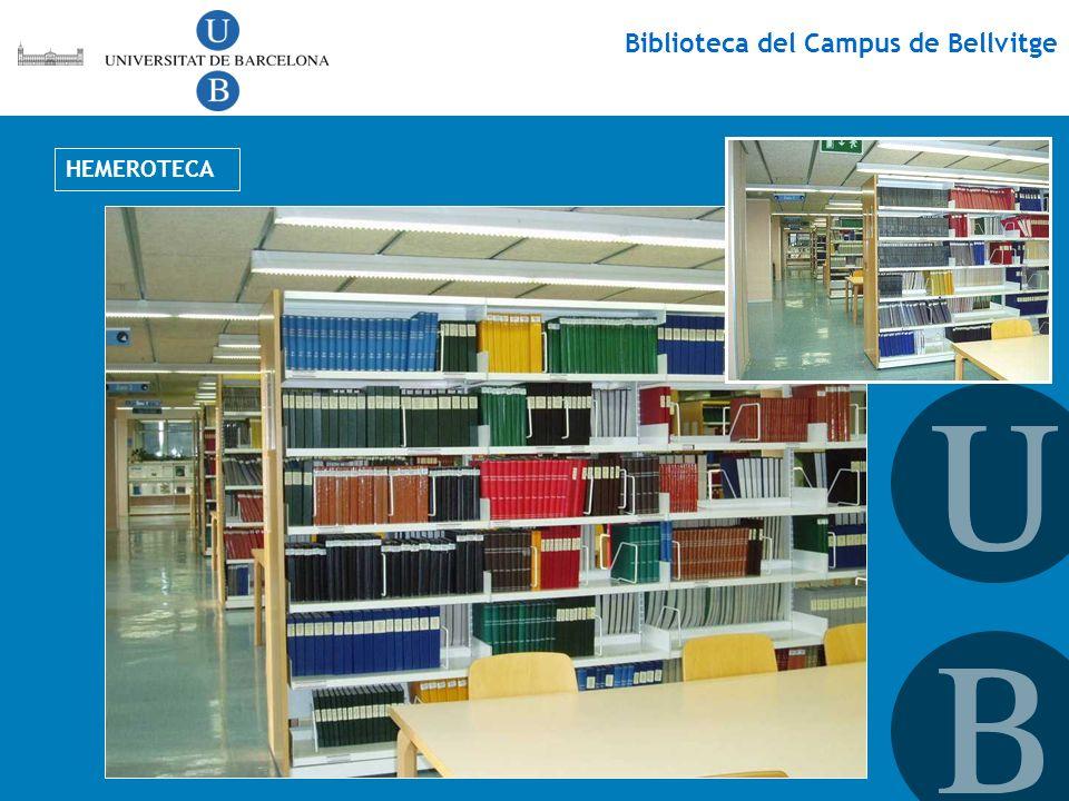 Biblioteca del Campus de Bellvitge HEMEROTECA