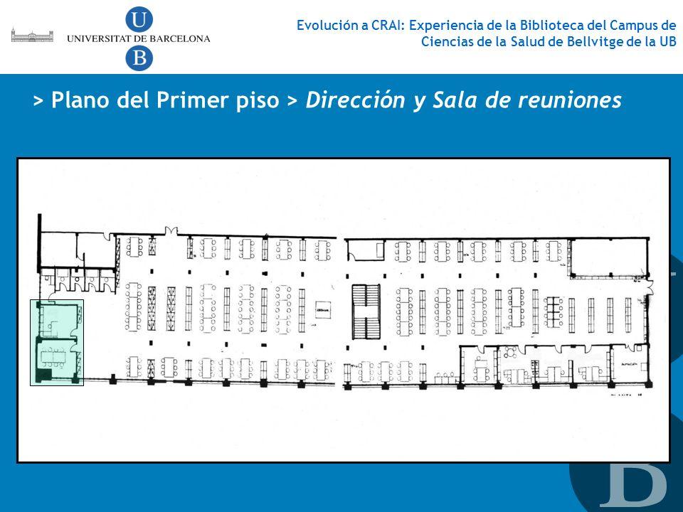 > Plano del Primer piso > Dirección y Sala de reuniones