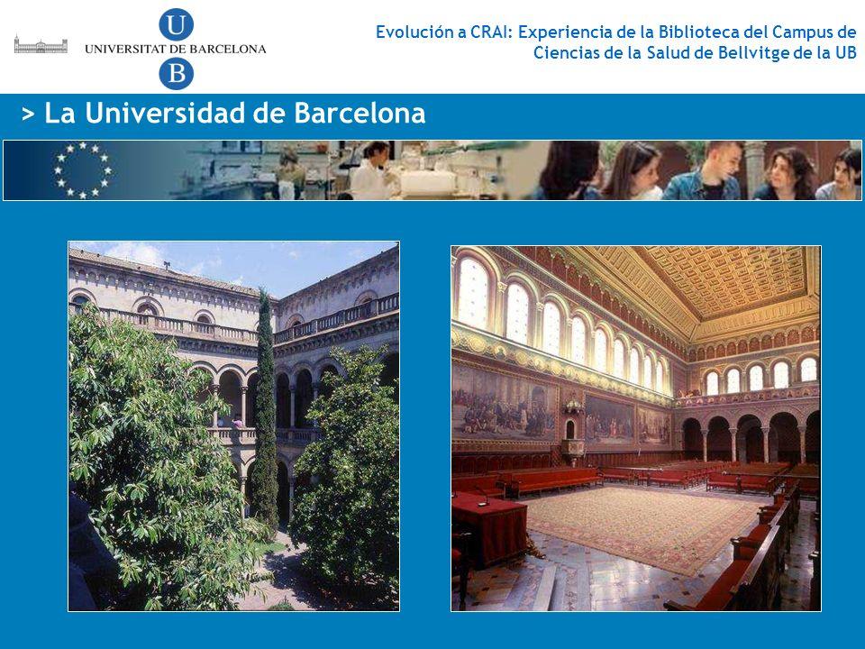 > La Universidad de Barcelona