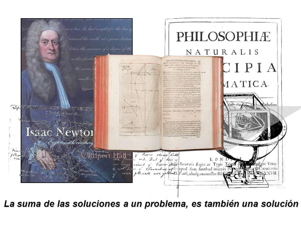 La suma de las soluciones a un problema, es también una solución