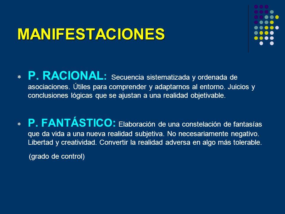 Clasificación ESTRUCTURA (en función del trastorno que lo desencadena).