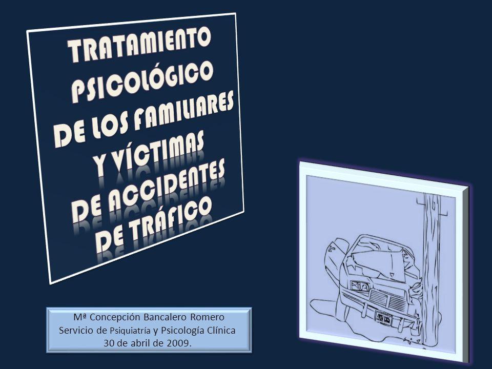 Mª Concepción Bancalero Romero Servicio de Psiquiatría y Psicología Clínica 30 de abril de 2009. Mª Concepción Bancalero Romero Servicio de Psiquiatrí