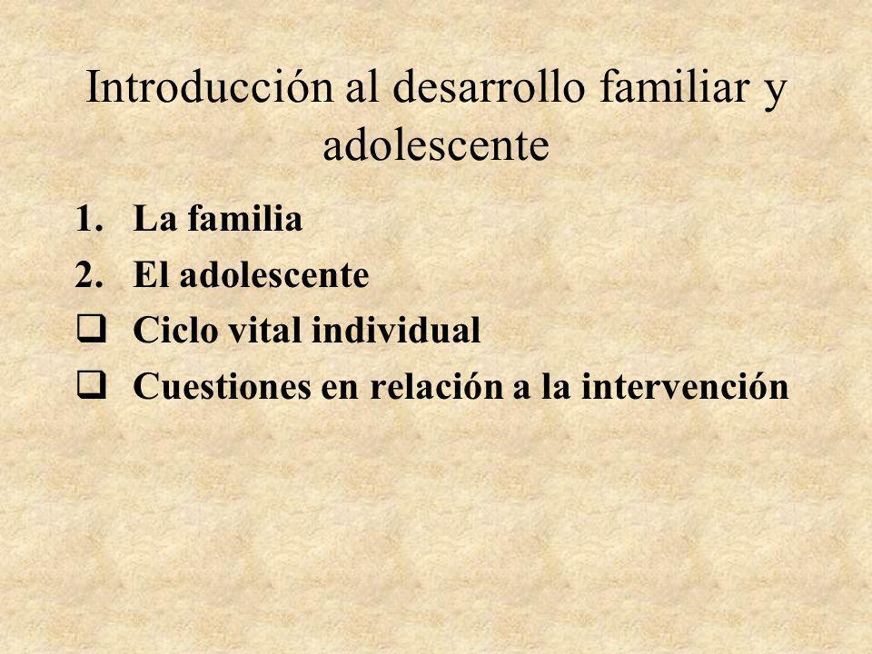 Epigénesis Wynne (1984): PROCESOS EPIGENETICOS EN LAS RELACIONES FAMILARES 1.Apego/protección 2.Comunicación 3.Solución conjunta de los problemas 4.Mutualidad 5.