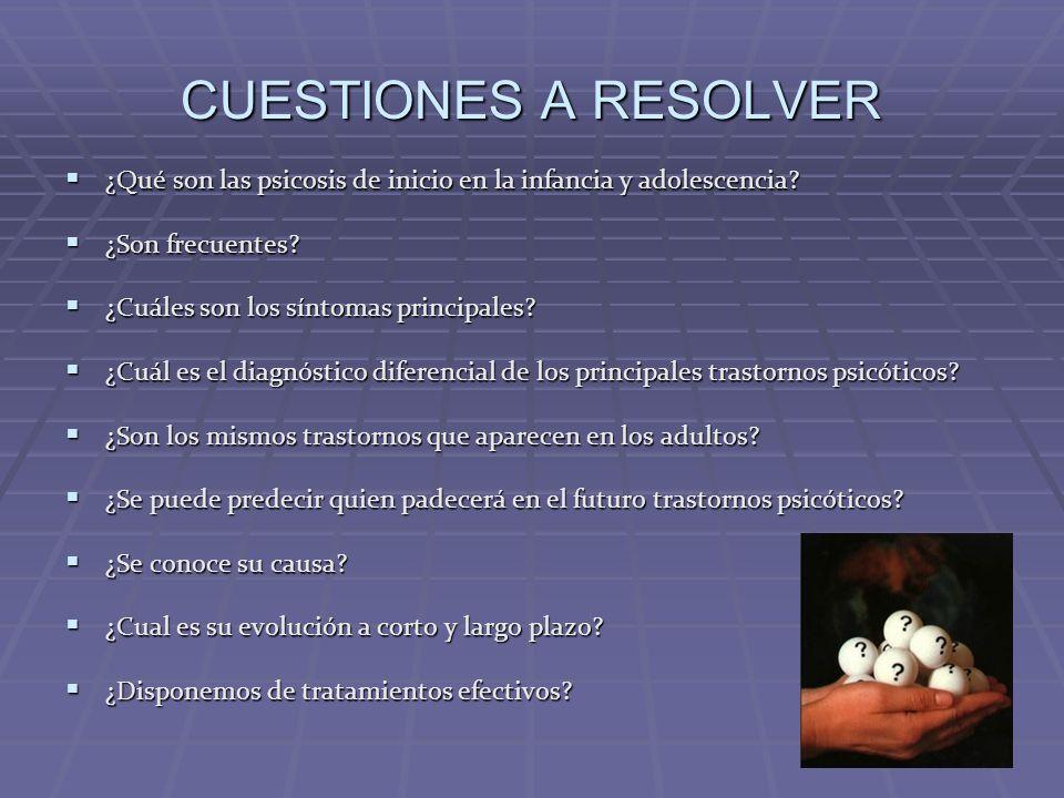 ASPECTOS TERAPEUTICOS OBJETIVOS Remisión de los síntomas positivos.