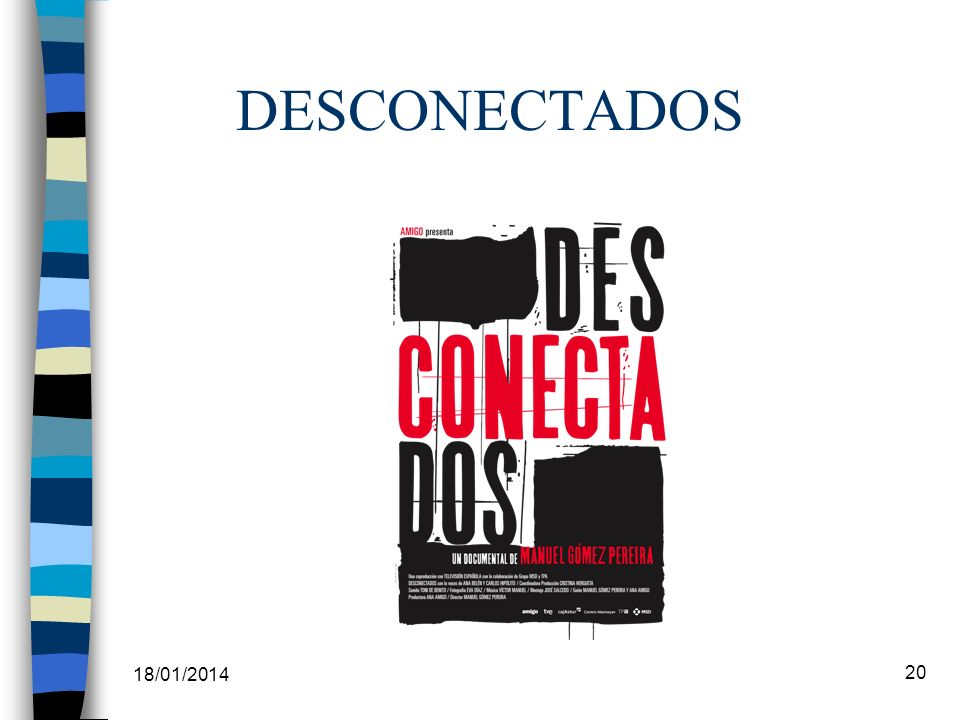 DESCONECTADOS 18/01/2014 20