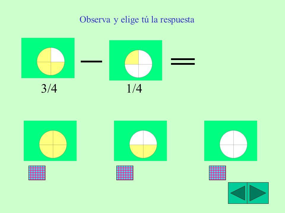 Resta de fracciones con igual denominador. Observa las figuras y lee atentamente: Luis tiene 5/9 de una tableta de chocolate y le da a su hermana 2/9.