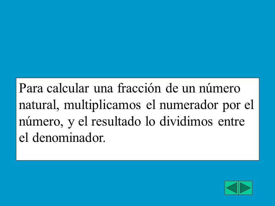 Ahora calcula tú el valor de: a)2/5 de 7000 -------7OOO m. --- Elige tú la solución a) 2500 b) 2800