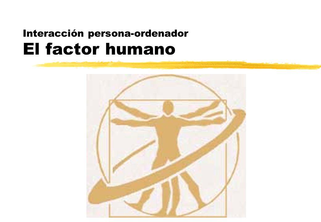 Los sentidos El tacto zOtros aspectos de la percepción háptica son yLa sentido cenestésico o conciencia de la posición del cuerpo y las extremidades yEl sentido vestibular, que proporciona información acerca de la orientación, el movimiento y la aceleración zNormalmente no somos conscientes de ellos, salvo cuando nuestros receptores sensoriales reciben estímulos inadecuados zSon muy importantes en el diseño de sistemas de Realidad Virtual ySi no se tienen en cuenta nos encontramos con problemas de mareos, nausea y desorientación espacial