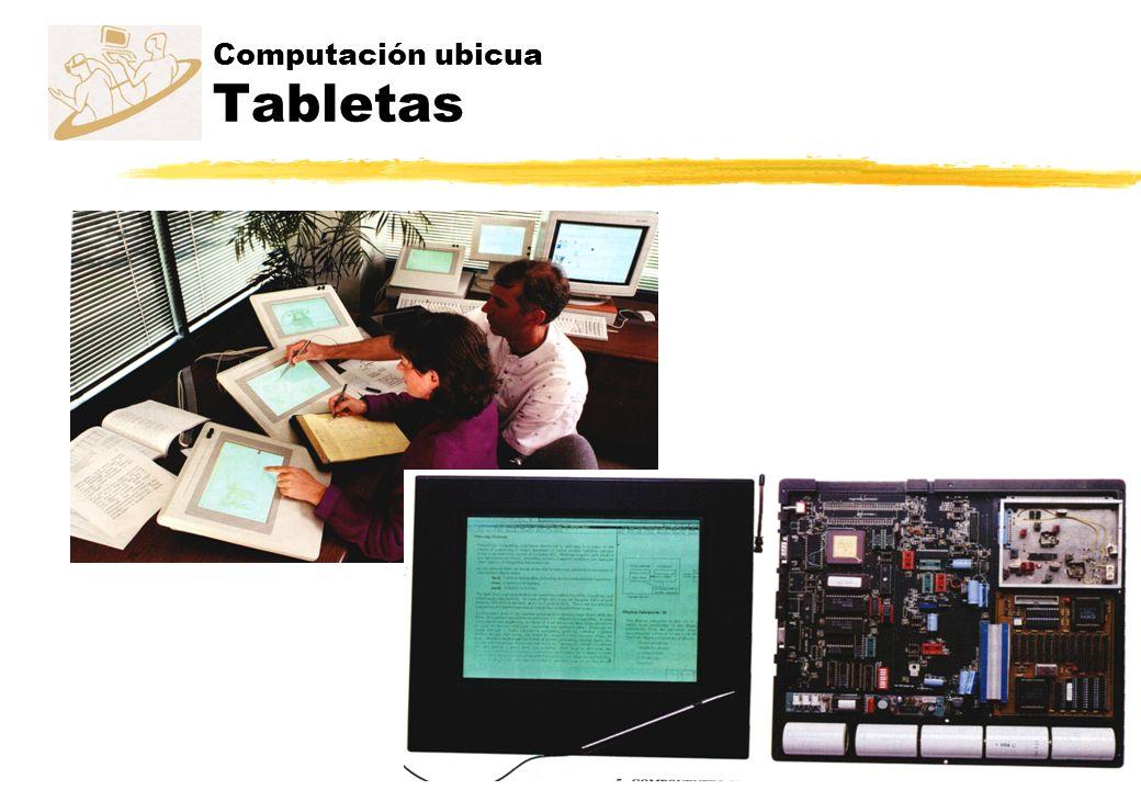 Computación ubicua Tabletas