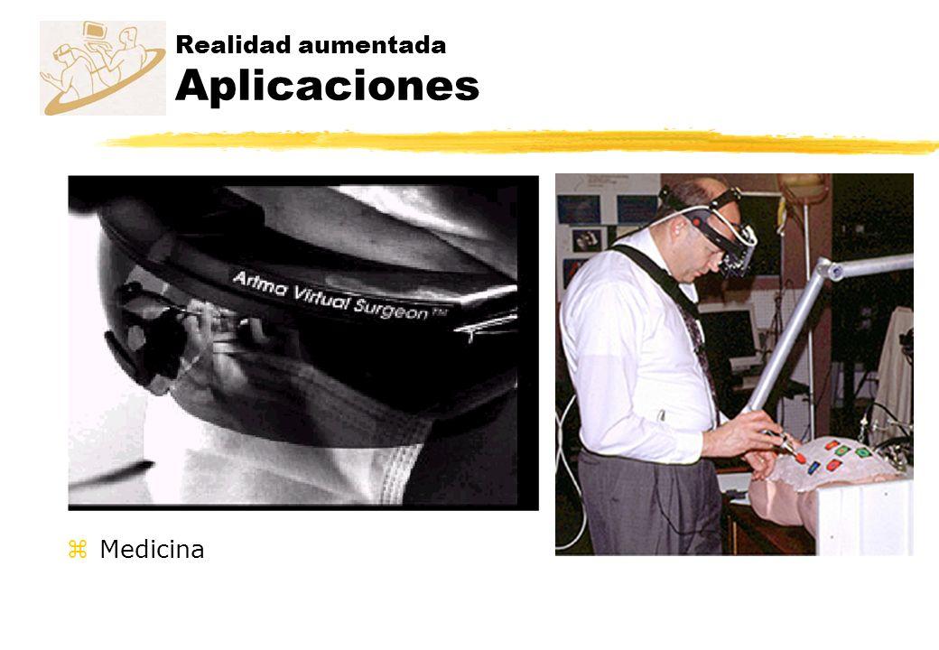 Realidad aumentada Aplicaciones zMedicina