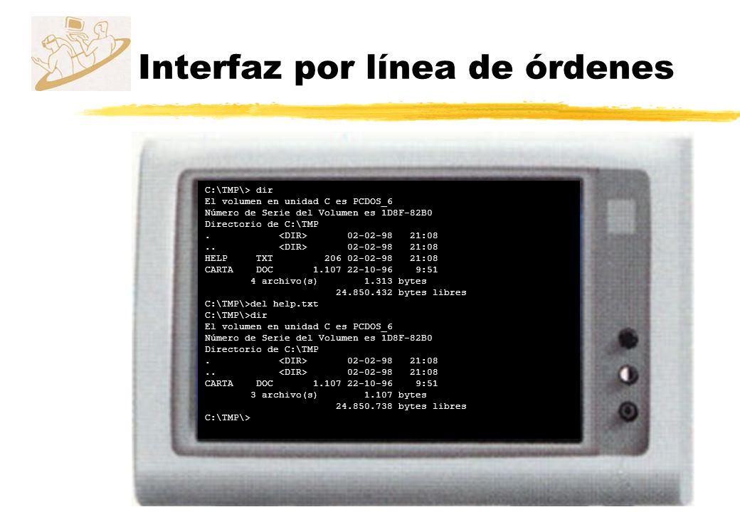 C:\TMP\> dir El volumen en unidad C es PCDOS_6 Número de Serie del Volumen es 1D8F-82B0 Directorio de C:\TMP. 02-02-98 21:08.. 02-02-98 21:08 HELP TXT