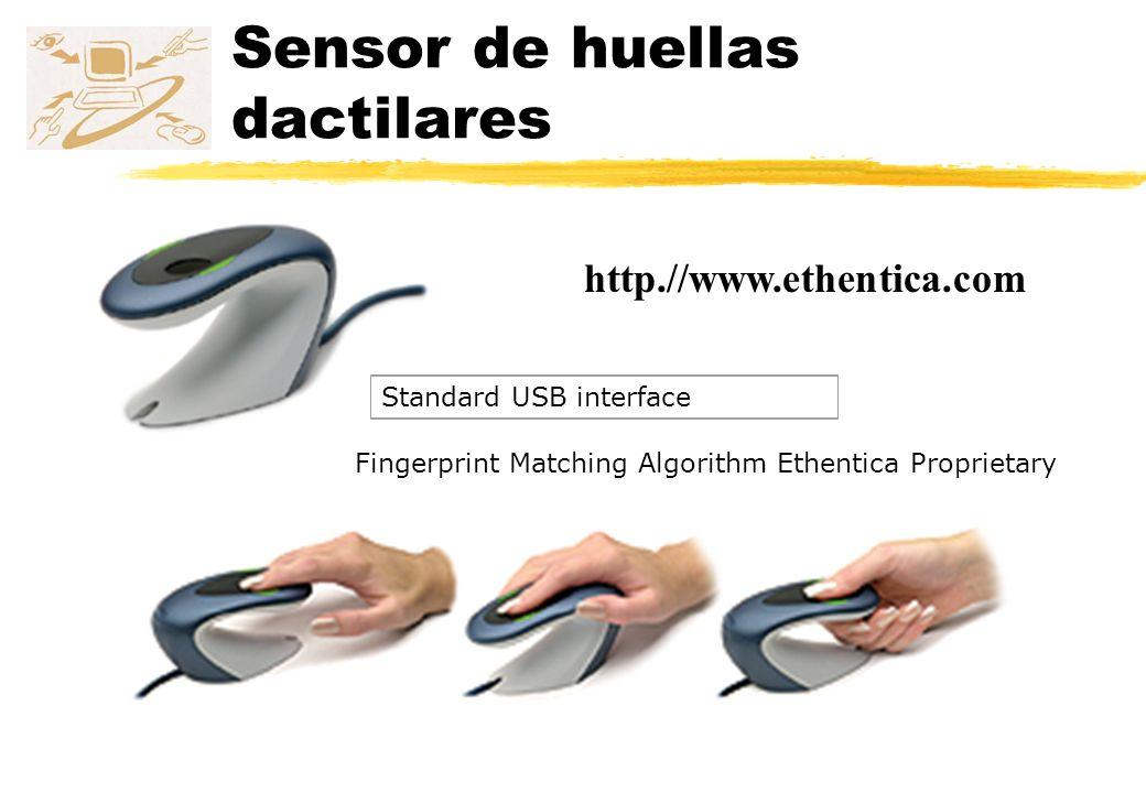 Sensor de huellas dactilares zTactileSense T-FPM Fingerprint Sensor Module for the OEM/Systems Integrator