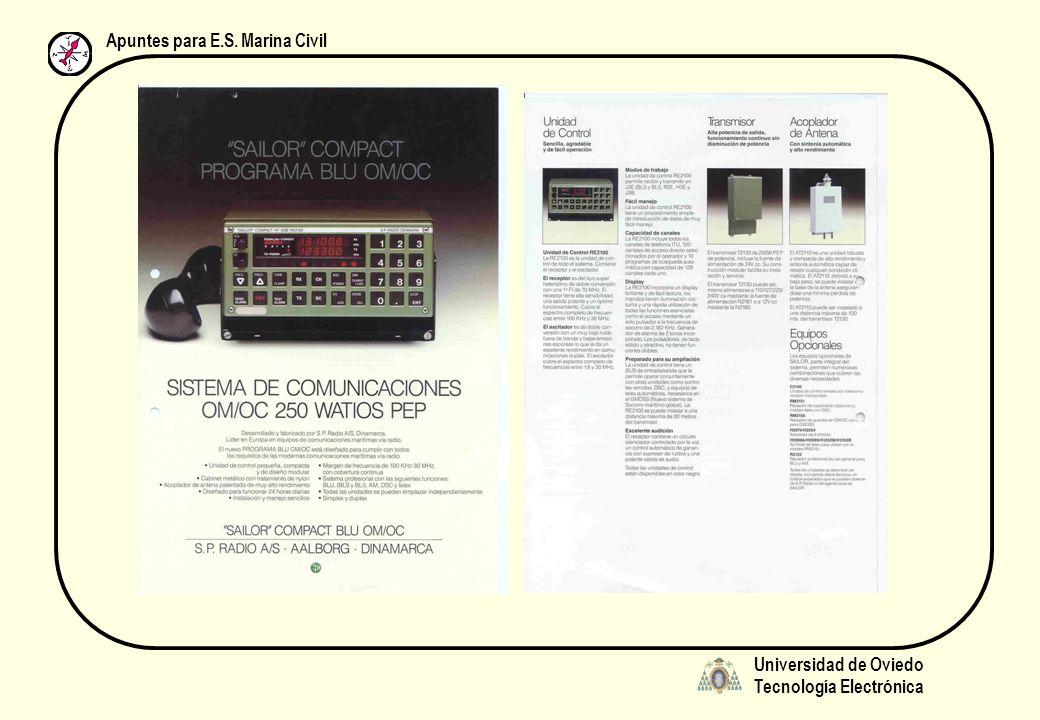 Universidad de Oviedo Tecnología Electrónica Apuntes para E.S. Marina Civil