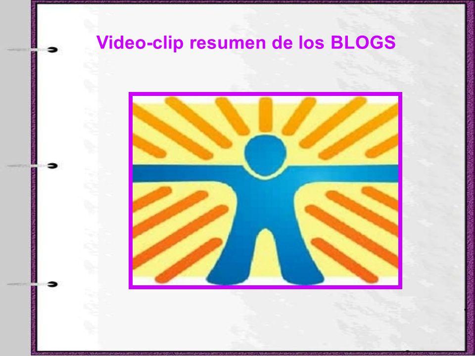Video-clip resumen de los BLOGS