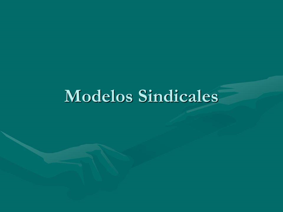 Modelos Sindicales