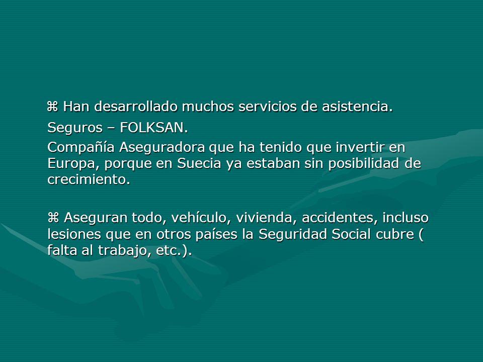 Han desarrollado muchos servicios de asistencia. Han desarrollado muchos servicios de asistencia. Seguros – FOLKSAN. Compañía Aseguradora que ha tenid