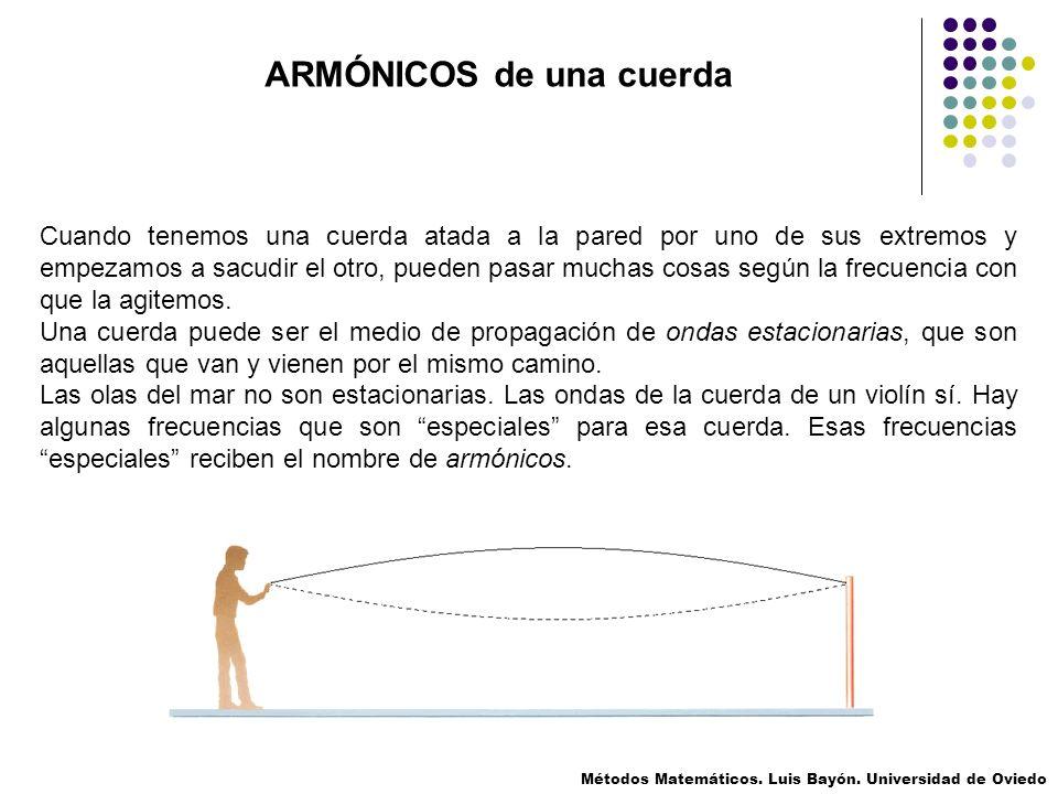 Para los siguientes ejemplos, vamos a estudiar una cuerda de guitarra.