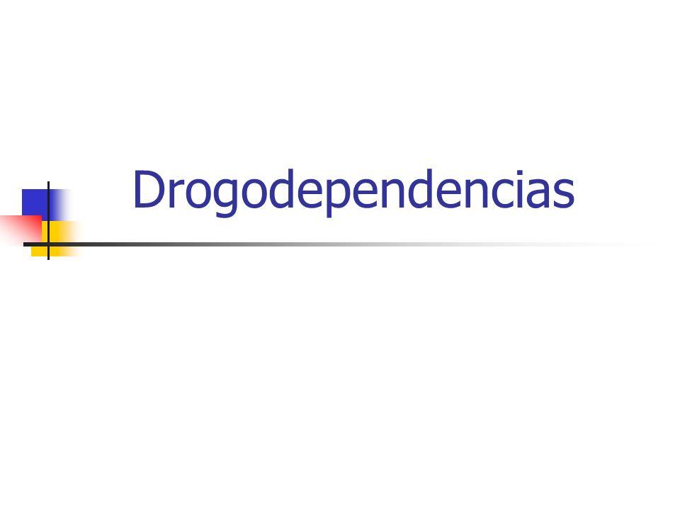 Drogodependencias