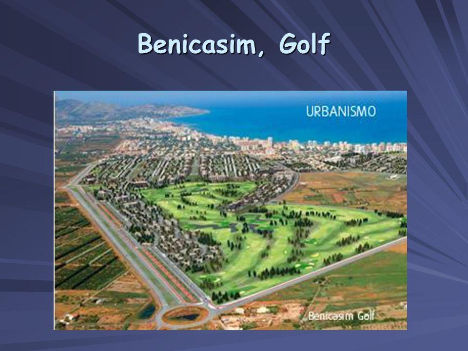 Benicasim, Golf