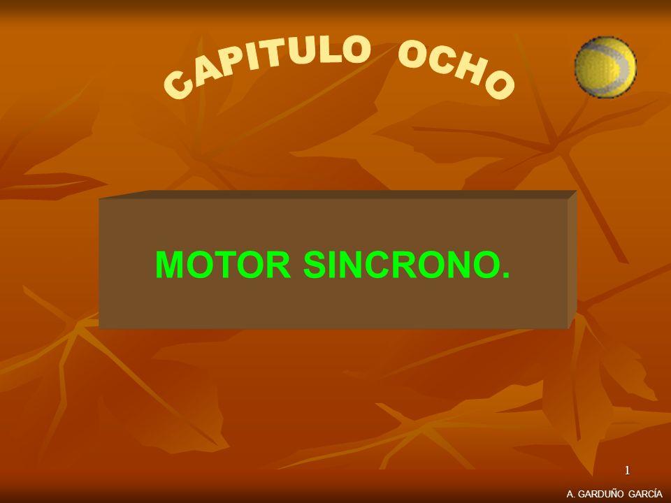 1 MOTOR SINCRONO. A. GARDUÑO GARCÍA