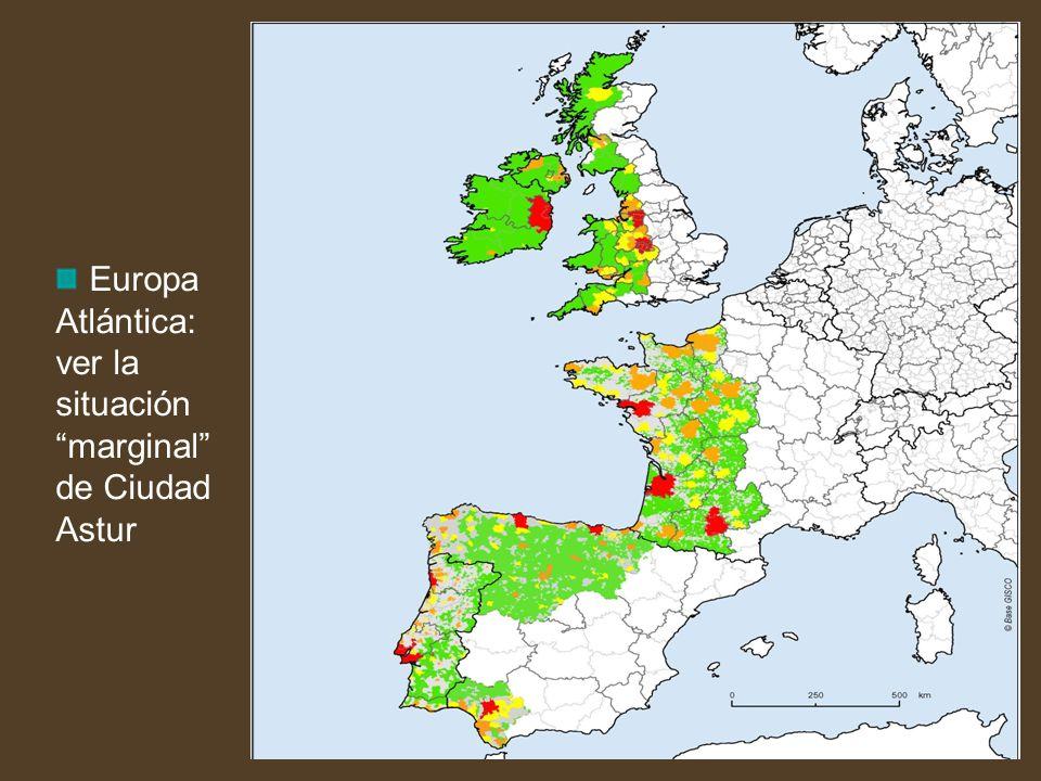 Europa Atlántica: ver la situación marginal de Ciudad Astur