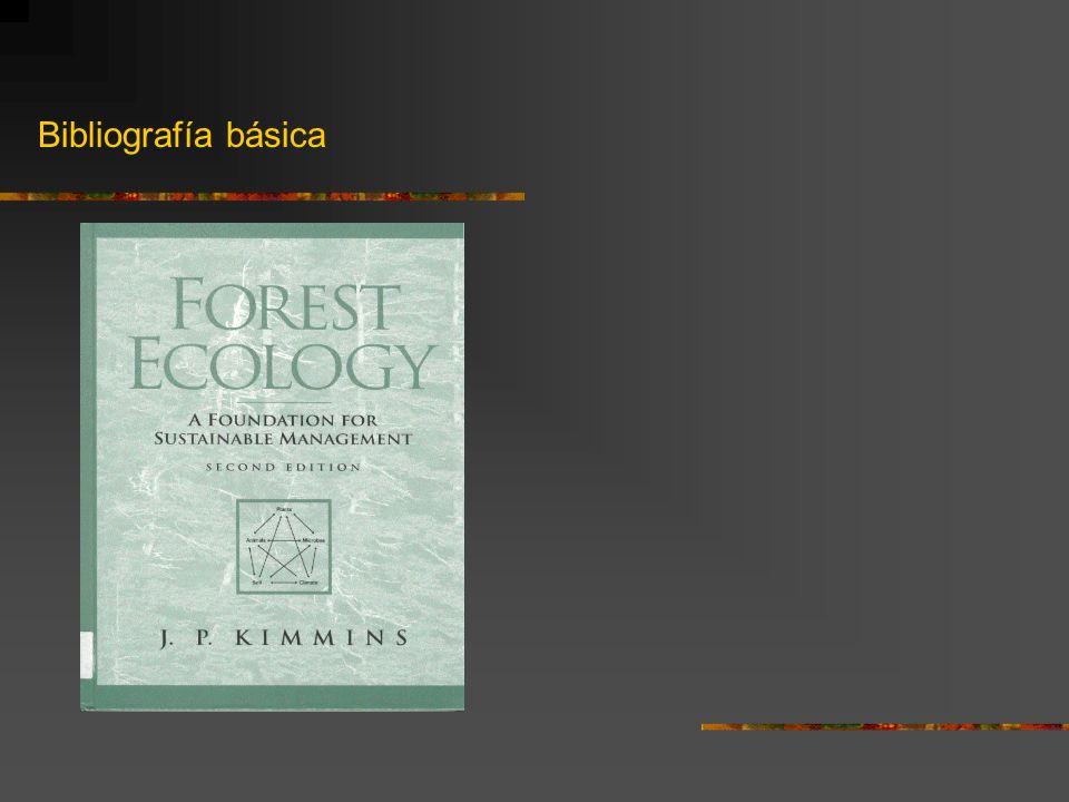 Smith, R.L.y Smith, T.M. 2001. Ecología. Addison Wesley.