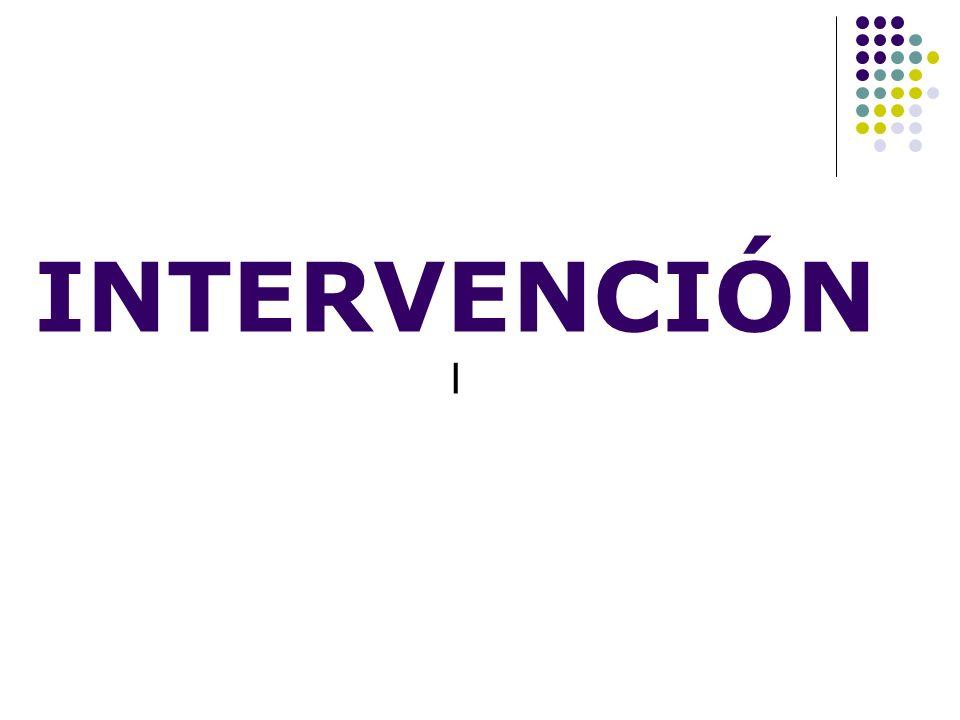 INTERVENCIÓN I