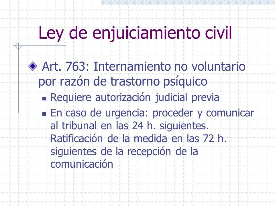 Ley de enjuiciamiento civil Art.