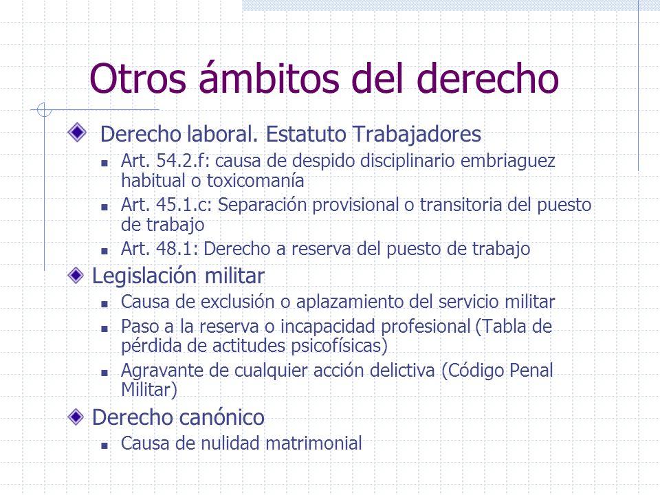 Otros ámbitos del derecho Derecho laboral.Estatuto Trabajadores Art.