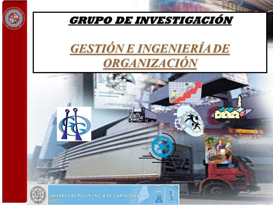 GRUPO DE INVESTIGACIÓN GESTIÓN E INGENIERÍA DE ORGANIZACIÓN