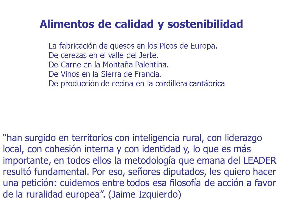 Alimentos de calidad y sostenibilidad La fabricación de quesos en los Picos de Europa.