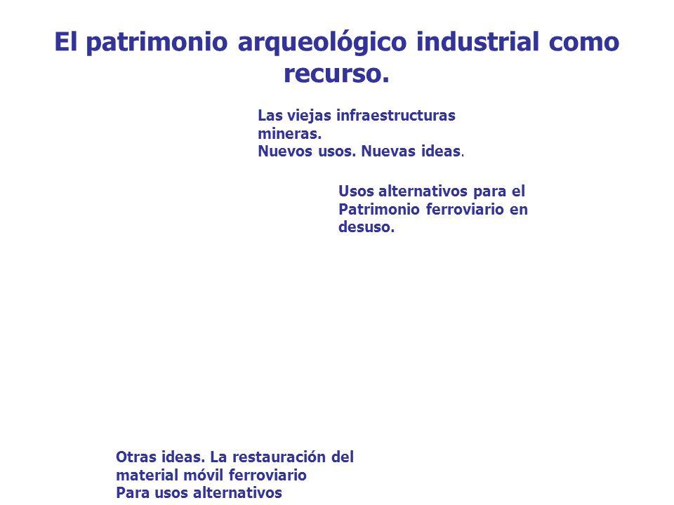 El patrimonio arqueológico industrial como recurso.