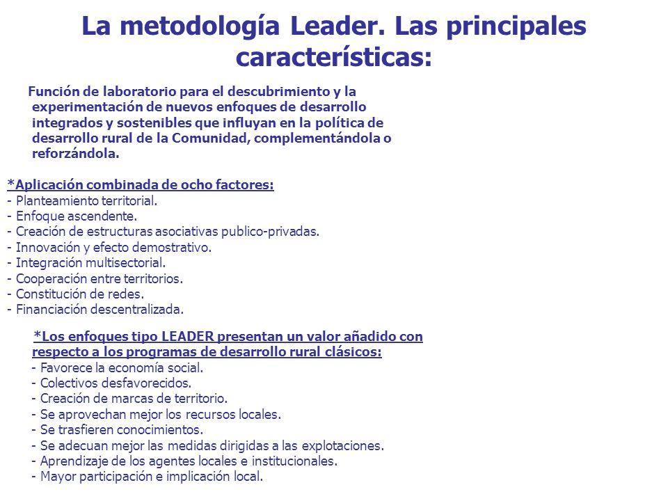 La metodología Leader.